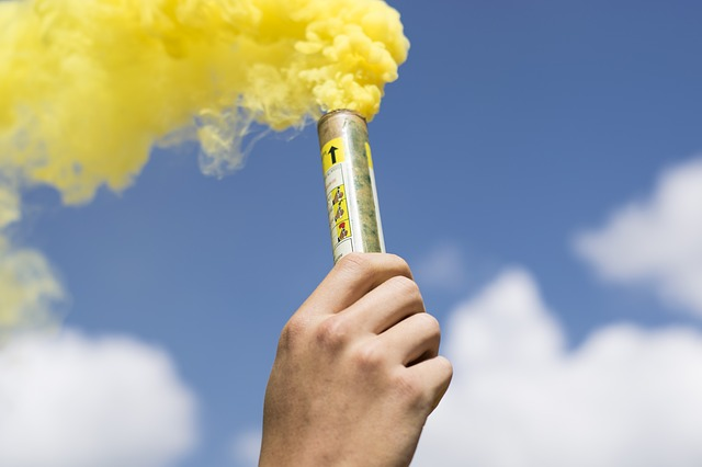 Utilisation des fumigènes