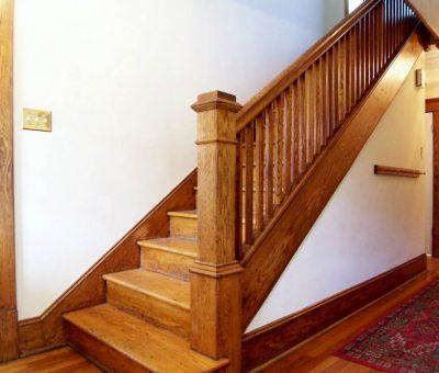 Peinture escaliers bois